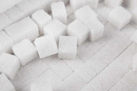 refine: White refined sugar background Stock Photo