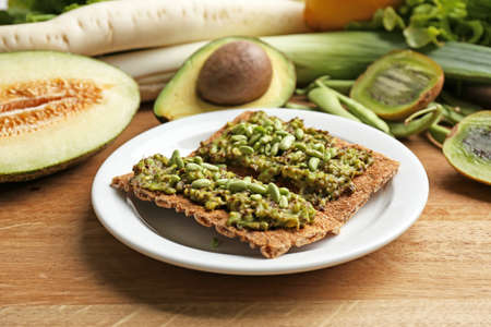 healthy snack: Healthy snack, close-up Stock Photo