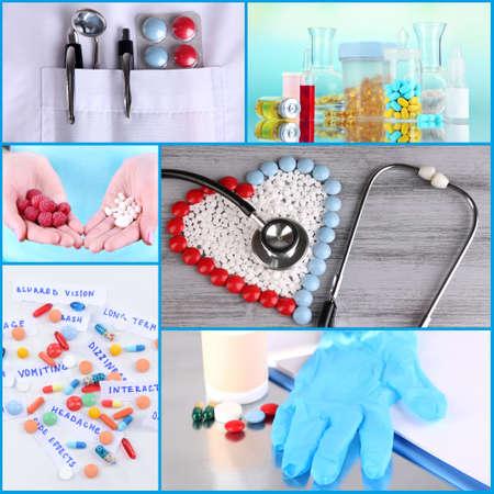Medicine collage photo