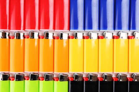 encendedores: Encendedores Primer colorido