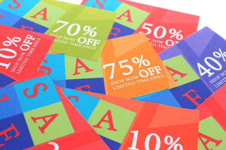 miser: Set of coupons for shopping to save money