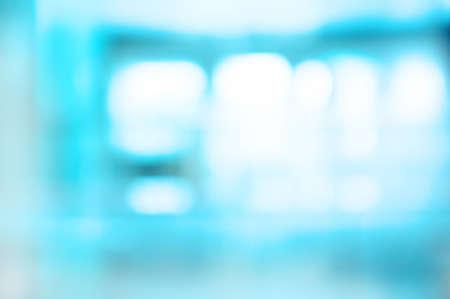 vague: Fuzzy photo, blue tones background