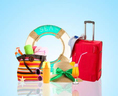 the case: Travel concept Stock Photo