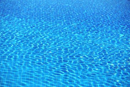 waterpool: Blue water in swimming pool