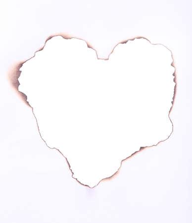 burned paper: Burned paper as background