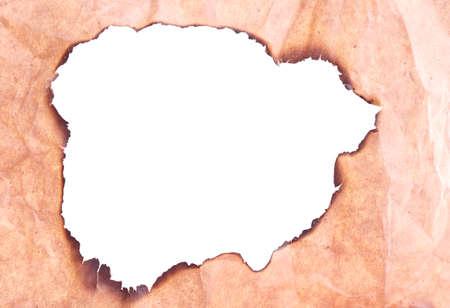 papier brul�: Papier br�l�