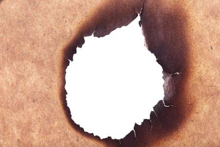 papel quemado: Papel quemado como fondo Foto de archivo
