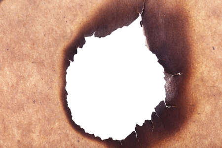 papier brul�: Papier br�l� comme arri�re-plan