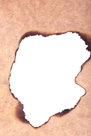 quemado: Papel quemado como fondo Foto de archivo