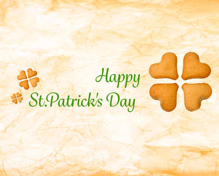 Happy St.Patricks Day, greeting card photo