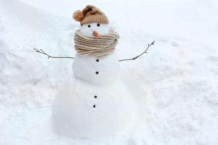 bonhomme de neige: Bonhomme de neige dr�le