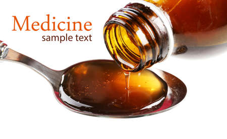 expectorant: Cough syrup, close-up