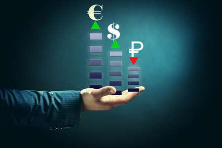 Currency appreciation concept photo