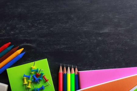 utiles escolares: Los �tiles escolares de primer plano