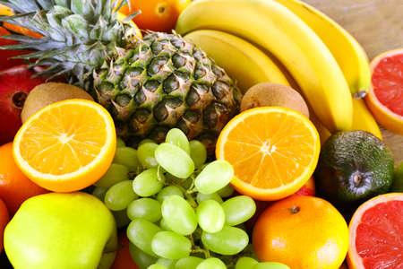 Assortiment de fruits exotiques close-up