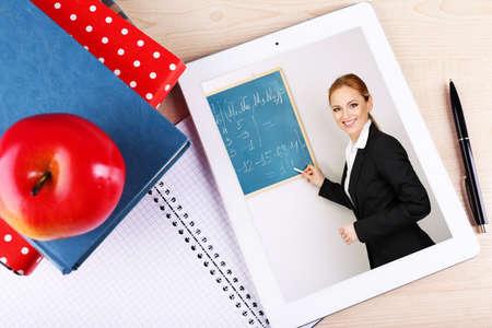 online education: Online education concept