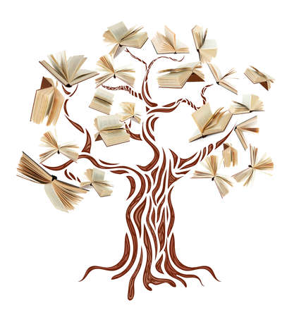 Book tree Imagens