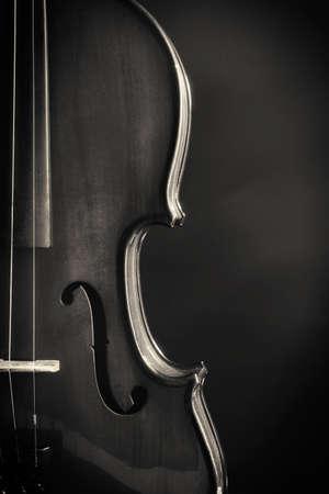 violin background: Classical violin on dark background