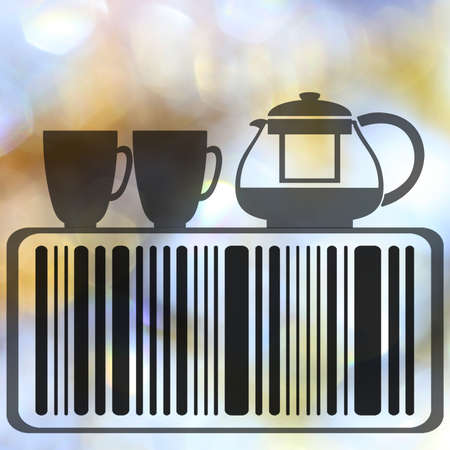 encode: Food barcode concept