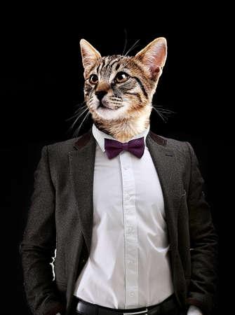careerists: Portrait Of Man With Animal Head