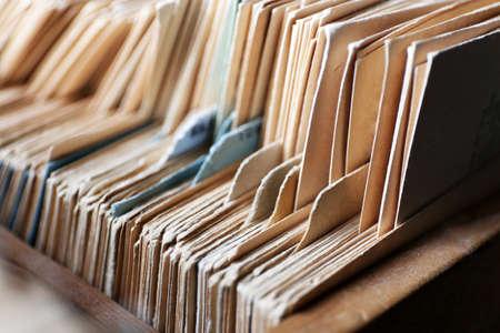 carpeta: Fichas de cat�logo de la biblioteca, de cerca