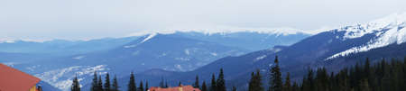 wintertime: Carpathian Mountains in wintertime