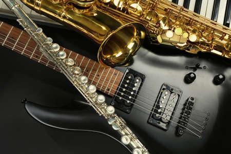 instruments de musique: Instruments de musique, gros plan