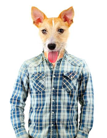 Portrait Of Man With Animal Head