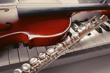 instrumentos musicales: Instrumentos musicales close up