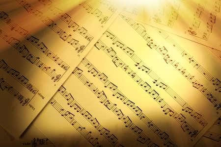 textures: Musik Notizenhintergrund