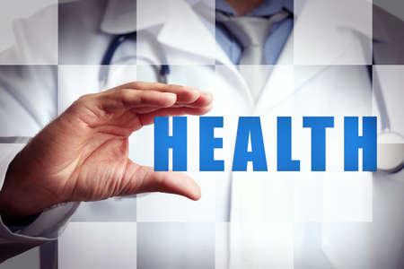 medical choice: Medicine doctor .Modern medical technologies concept
