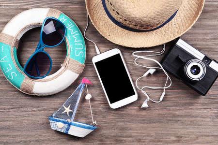 Příprava pro cestování, rezervace vstupenek close-up Reklamní fotografie
