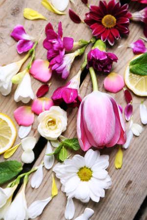 Abstract background with beautiful flowers Zdjęcie Seryjne