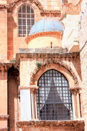 church of the holy sepulchre: Israel. Jerusalem. Church of the Holy Sepulchre Stock Photo