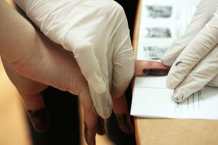 fingerprint: Taking fingerprints