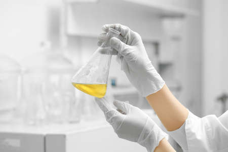 Chemical laboratory Stock Photo