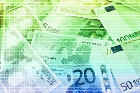 euro banknotes: Euro banknotes close-up Stock Photo