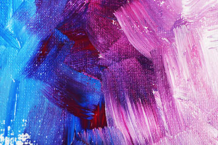 Abstract colorful brushstrokes as background Stockfoto