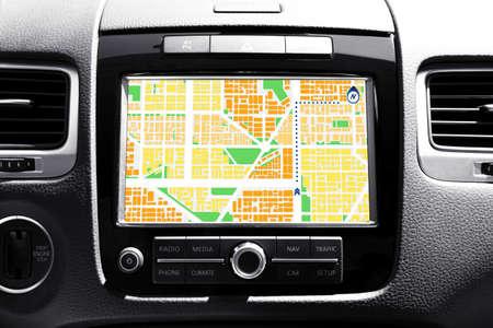 navegacion: Sistema de navegación en el coche
