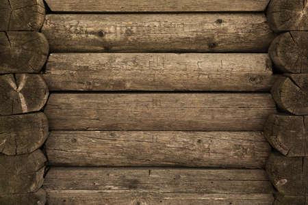 Holzwand Protokolle als Hintergrund