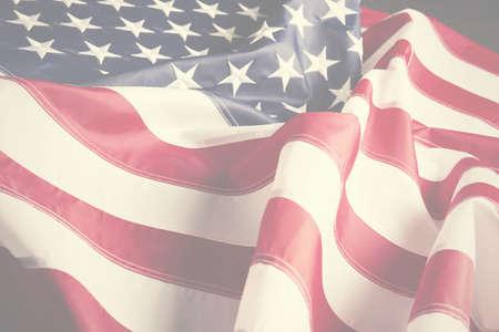 american hero: American flag background