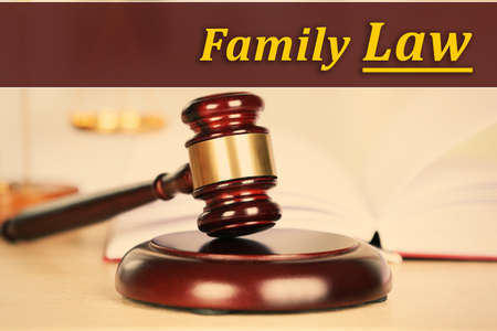 Family law concept Stock Photo