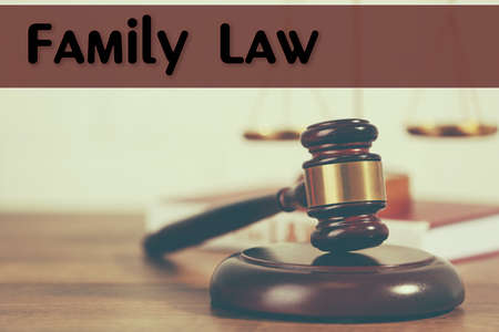 family law: Family law concept Stock Photo