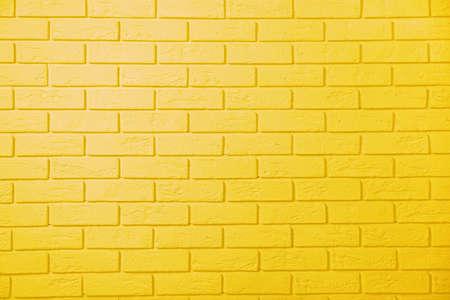노란 벽돌 벽 배경