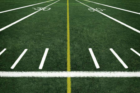 sideline: Football field