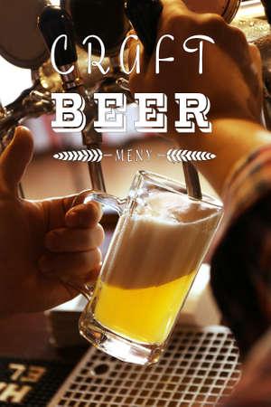 Exclusive fresh craft beer