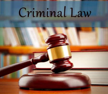Criminal law concept Stock Photo