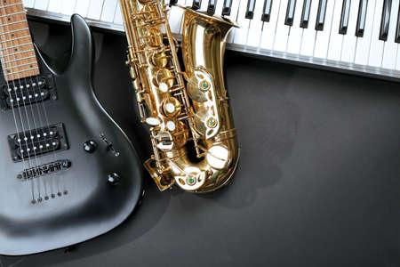 楽器、クローズアップ 写真素材