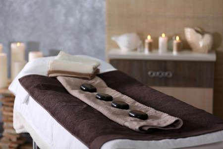Platz für Entspannung im modernen Wellness-Center Standard-Bild