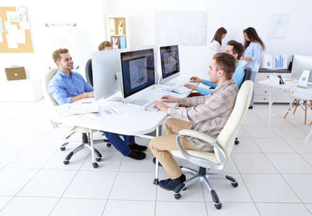 Stylish engineers office